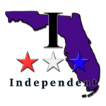 Florida map 3rd party and independent voters