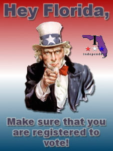 Voter registration - registering to vote in florida