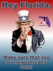 Voter registration - registering to vote in florida