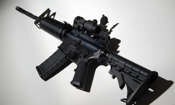 Gun Reform AR-15 assault rifle