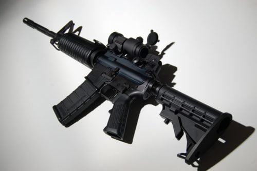 Gun Reform AR-15 assault rifle